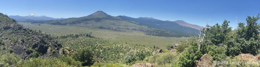 Hat Valley, View Towards Mount Lassen