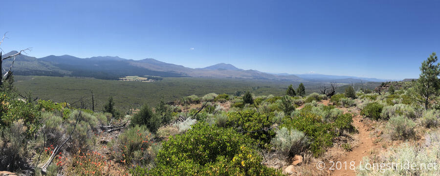 Hat Valley, View Towards Mount Shasta