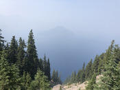 First View of Crater Lake