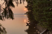 Sunset Over Timothy Lake