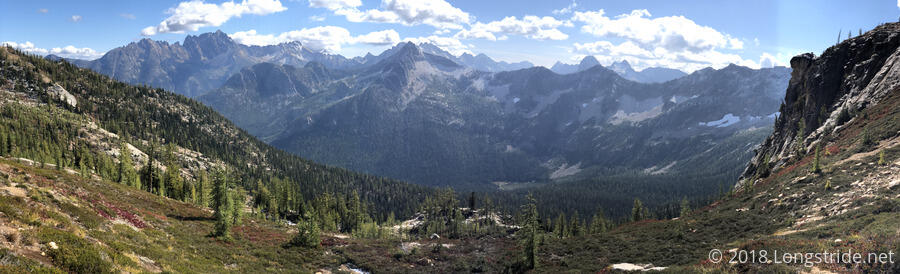 View from Cutthroat Pass