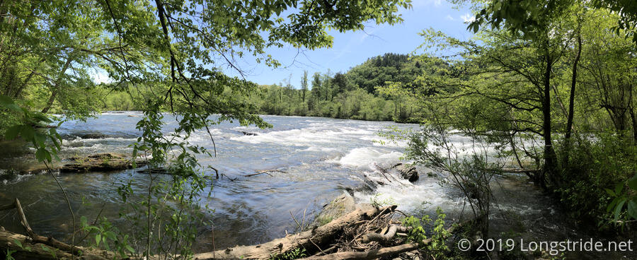 Rapids on the Hiwassee River