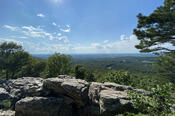 View from Bears Den Rocks