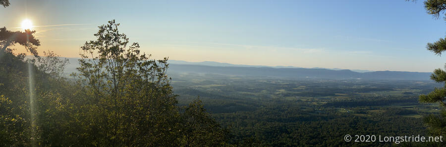 Shenandoah Valley at Sunrise