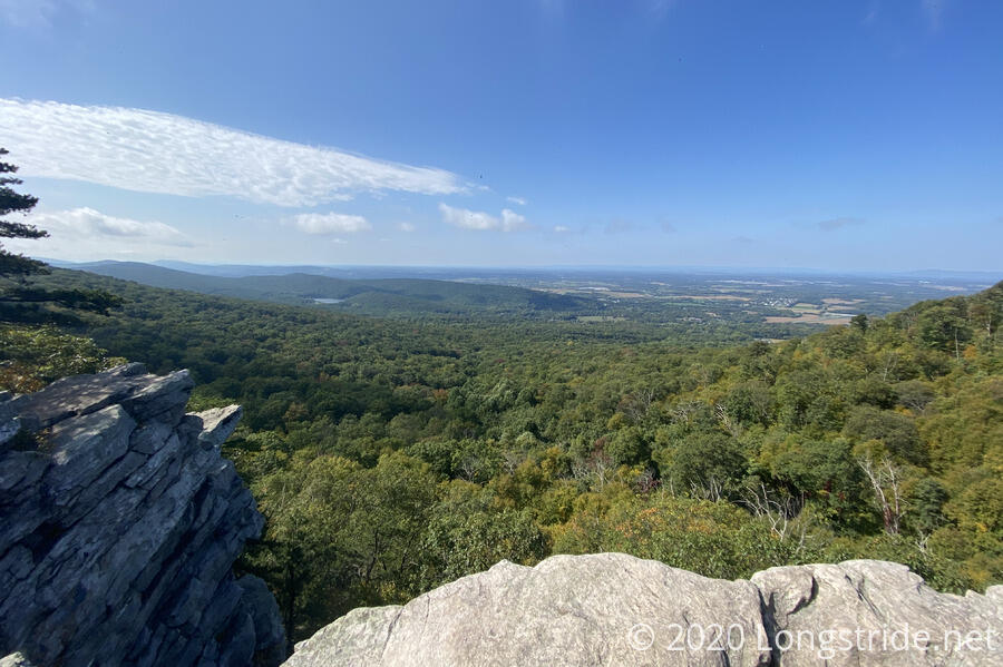 View from Annapolis Rocks