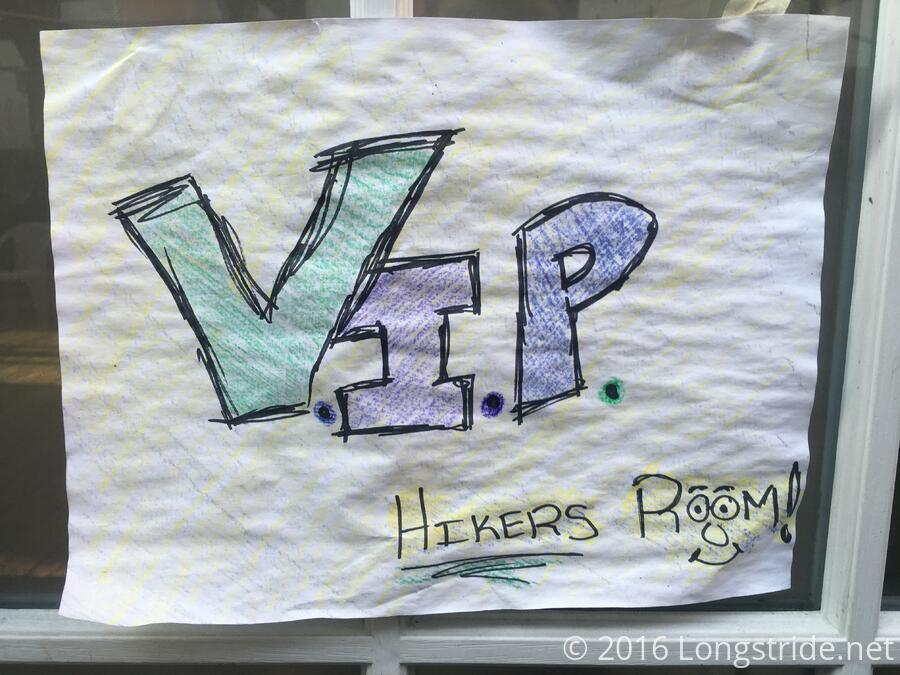 VIP Hikers Room