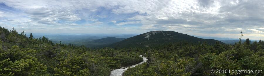 View from Baldpate West Peak