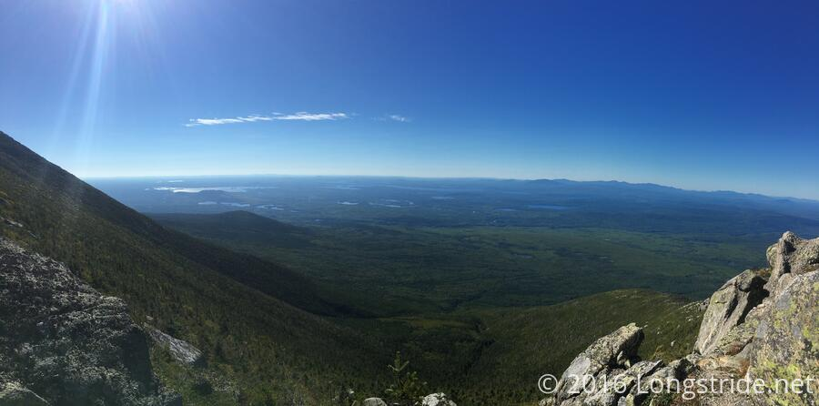 View South from Katahdin