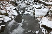 Partially-Frozen Stream