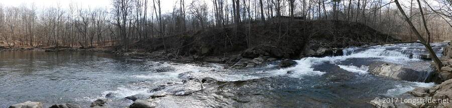 McKeldin Rapids Waterfall