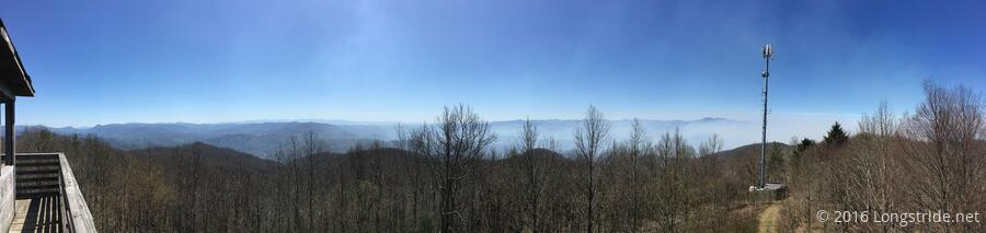 View from Rich Mountain Lookout Tower