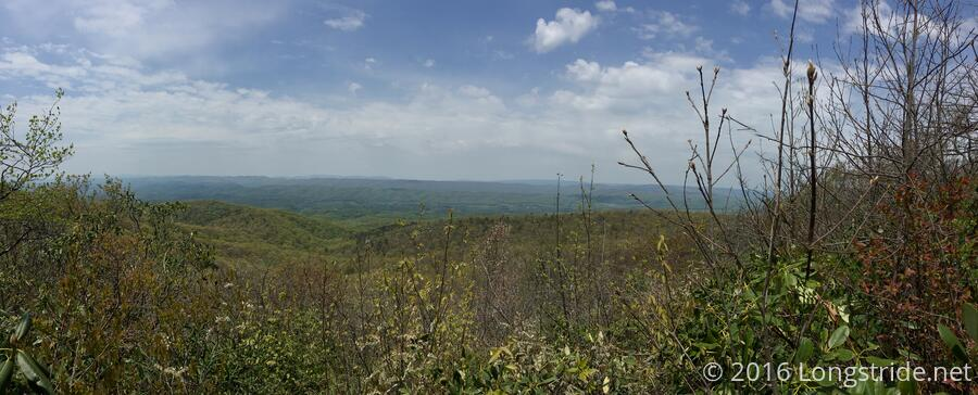 View from Glade Mountain
