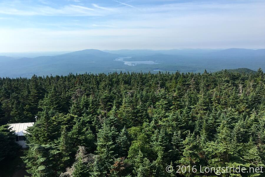 View from Stratton Mountain Fire Tower