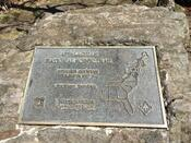 Springer Mountain Summit Plaque