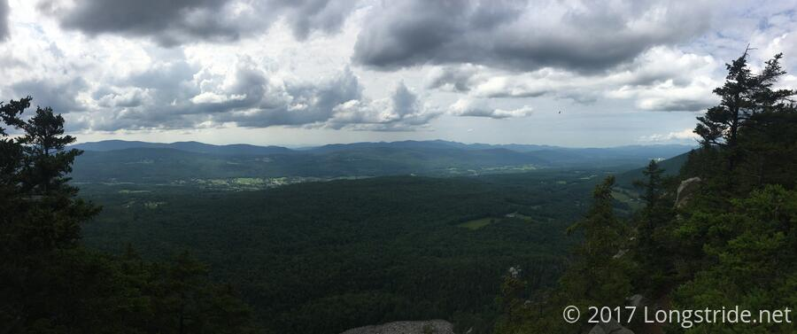 View from White Rocks Overlook