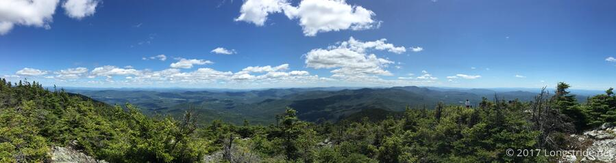 The Whites, from Mt. Abraham