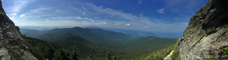 View While Ascending Camel's Hump