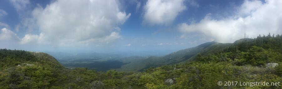 View from Mount Mansfield's Forehead