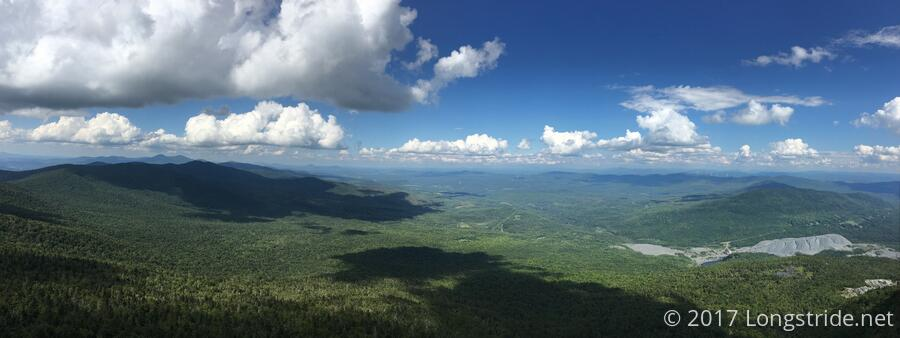 View north from Mount Belvidere Fire Tower