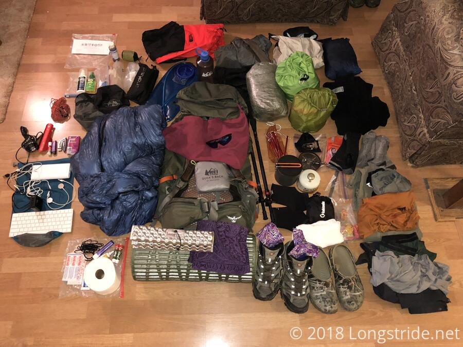 Gear for the trail
