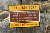 Trail Advisory