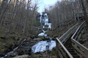 Amicalola Falls, View from Base