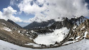 View East from Kearsarge Pass