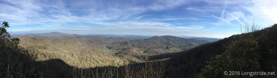 View from Little Rock Knob