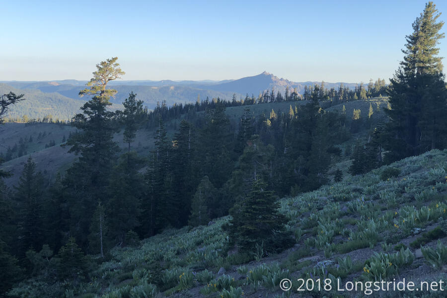 Sierra Butte in the Morning